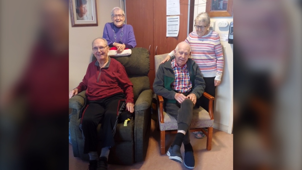 McKenzie Towne care centre residents
