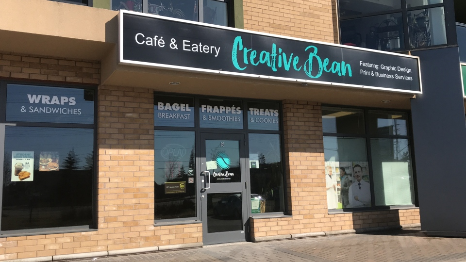 Tracy and Rene Segura, of Barrie, Ont., own the Creative Bean, a cafe and eatery. (Mike Arsalides/CTV News)