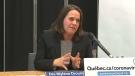 Montreal's director of public health Mylene Drouin