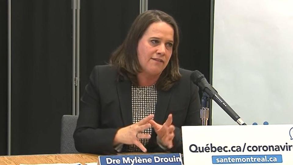 Montreal public health Mylene Drouin