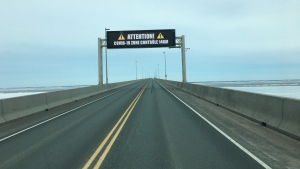 Prince Edward Island has announced additional screening and enforcement at the Confederation Bridge for travellers arriving on the island. (Courtesy: Jim Casey)