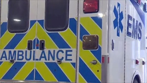 A man in his 20s is expected to recover despite being involved in a head-on crash with a dump truck Sunday morning. (File)