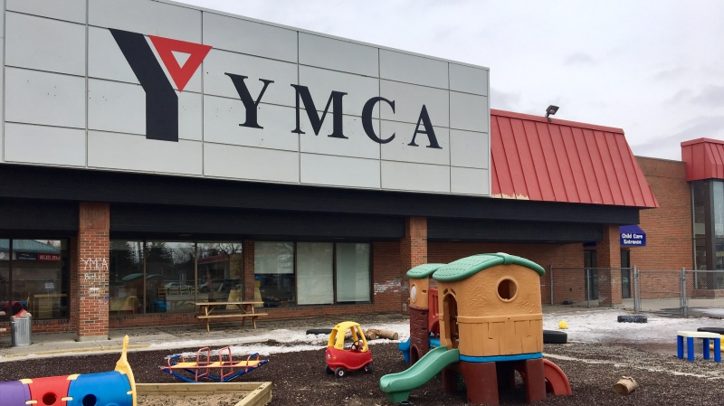 The NW Regina YMCA Daycare is seen in this file photo. (Gareth Dillistone/CTV News)