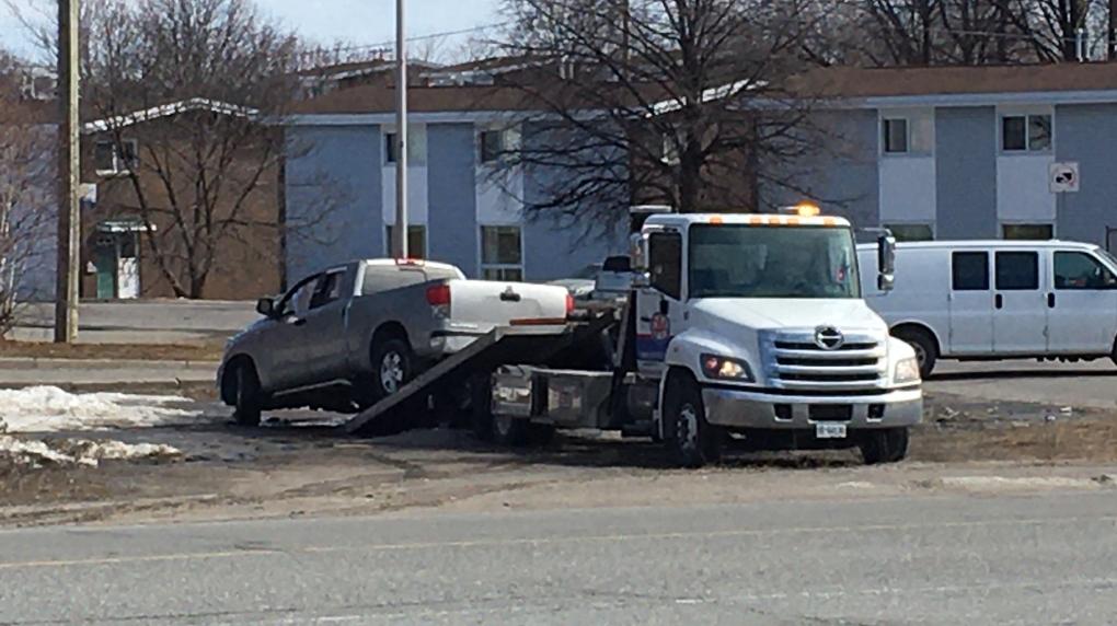 TRUCK CRASH IMPAIRED