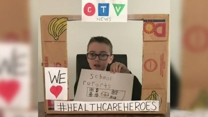 Chatham boy anchors his own newscast