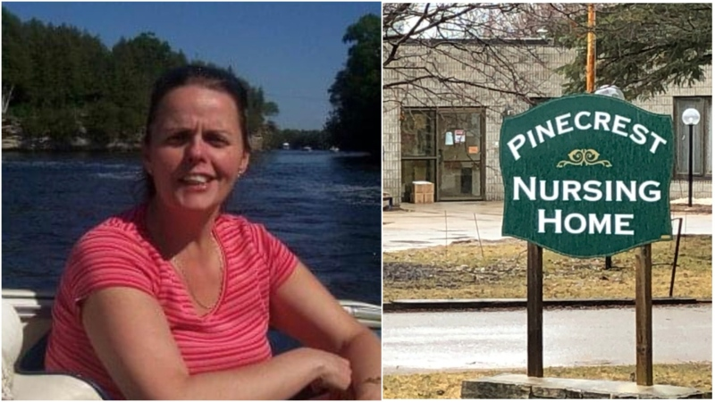 Heather Budway, 56, passed away at Pinecrest Nursing Home on March 30, 2020. (provided)