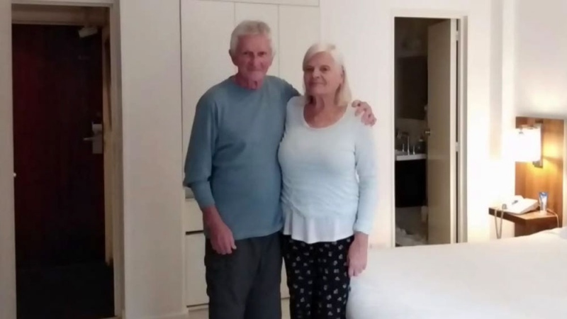 Canadian couple stranded in Argentina