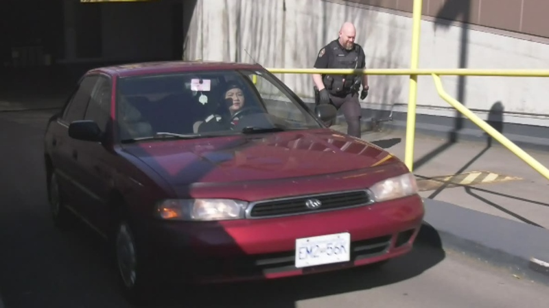 VicPD reunites health-care worker with stolen car