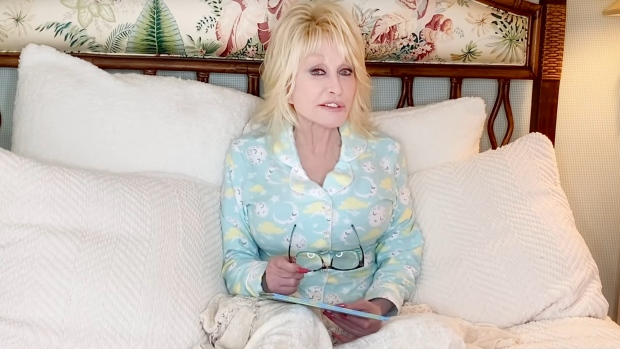 "Dolly Parton says she will read bedtime stories to children in a new virtual series called ""Goodnight with Dolly."" (Dolly Parton's Imagination Library)"