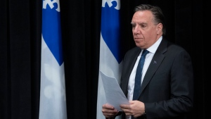 Quebec Premier Francois Legault. (CP file photo)