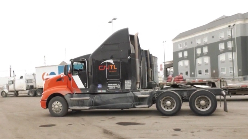 Harbour International Trucks is handing out 3,000 free meals to truckers as the pandemic has closed so many restaurants along their routes.