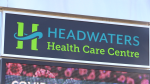 Headwaters Health Centre in Orangeville, Ontario. (Mike Arsalides/CTV News)