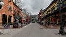 A lonely looking ByWard Market during COVID-19 pandemic. (Amanda Carroll/CTV Viewer)