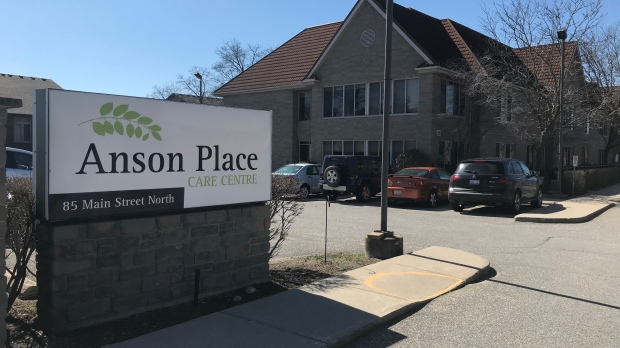 Anson Place seen here on April 2, 2020. (Dan Lauckner / CTV Kitchener)