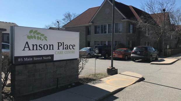 Anson Place seen here on April 2, 2020. (Dan Lauckner / CTV Kitchener)