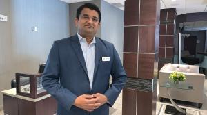 Salil Kulkarni, general manager of the Park Town Hotel in Saskatoon. (Nicole Di Donato/CTV Saskatoon)