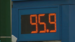 Gas prices dipped below $1 per litre in parts of Metro Vancouver on Thursday.