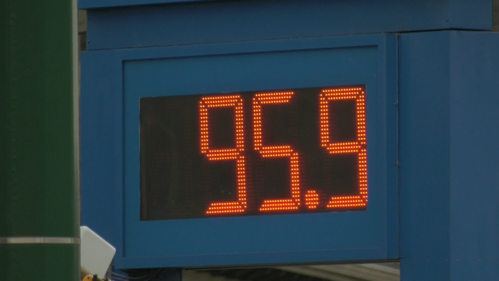 Gas price Vancouver