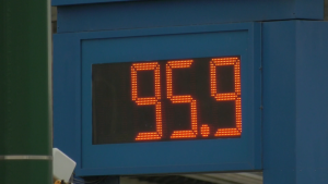 Gas prices dipped below $1 per litre in parts of Metro Vancouver on Thursday, April 2, 2020.