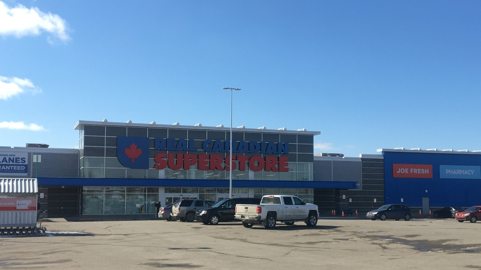 The Golden Mile Superstore says an employee tested positive for COVID-19 (Katy Syrota / CTV News Regina)