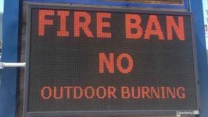 Fire ban generic file image.