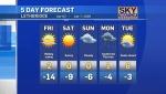TV Lethbridge Weather at 5 for Thursday, Apr.02, 2