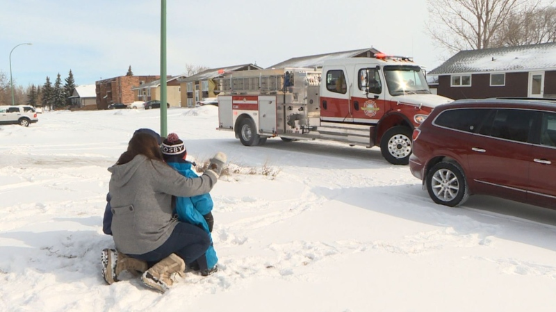 Fire Dept. gives kids special birthday party