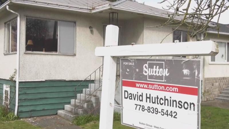 Pandemic halts booming real estate market