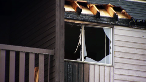 An apartment was significantly damaged in a fire Thursday afternoon in southeast Calgary