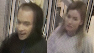 On Friday, officials released photos of the man and woman they are looking to speak with. (Photo/GPS)