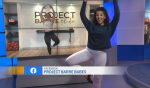 is #FitnessFriday and we're taking a barre class