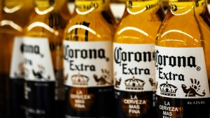 Production of Corona beer is being temporarily suspended in Mexico because of the coronavirus pandemic. Igor Golovniov/SOPA Images/LightRocket/Getty Images