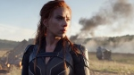 Scarlett Johansson in a scene from 'Black Widow.'  (Marvel Studios / Disney via AP)