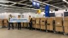 IKEA Edmonton donated more than 40,000 N95 masks to Alberta Health Services Friday, April 3, 2020. (Courtesy IKEA Edmonton)