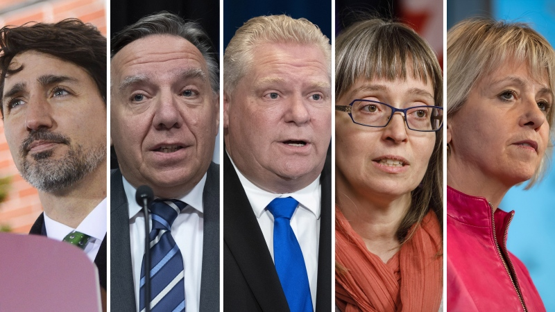 Leaders, health officials from across Canada