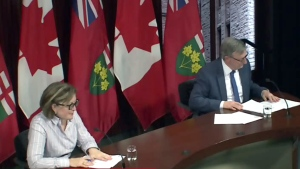 Ontario officials announce new COVID-19 cases