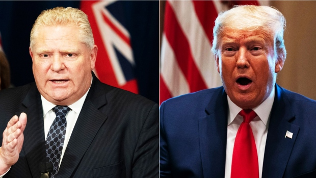 Ontario premier slams Donald Trump's decision to cease Canadian exports of N95 masks