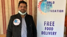 Manny Sadhra, president of the Saskatoon World Sikh Aid Foundation. (Nicole Di Donato/CTV Saskatoon)