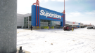 The Real Canadian Superstore location on Regent Avenue is pictured on April 3, 2020. Parent company Lobal confirmed a worker at the store tested positive for COVID-19 (CTV News Photo Glenn Pismenny)