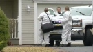 homicide scene in Hammonds Plains