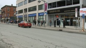 Shoppers rush to Ottawa cannabis stores before closure due to COVID-19 pandemic