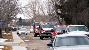 Vulcan firefighters helped a child celebrate his birthday by throwing a parade Friday