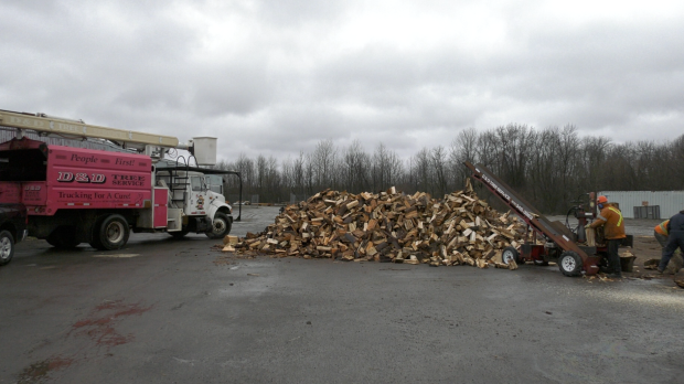 Brockville business offers free wood to keep people warm during COVID-19 pandemic