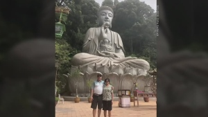 Calgary nurse's husband stranded in India