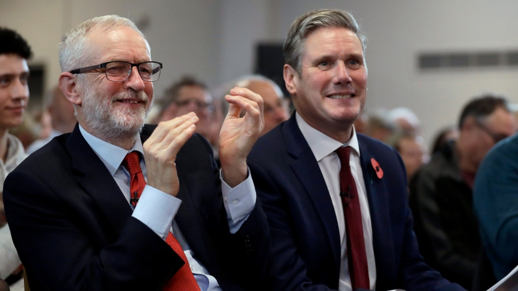 Rivals congratulate Starmer on Labour leadership election victory