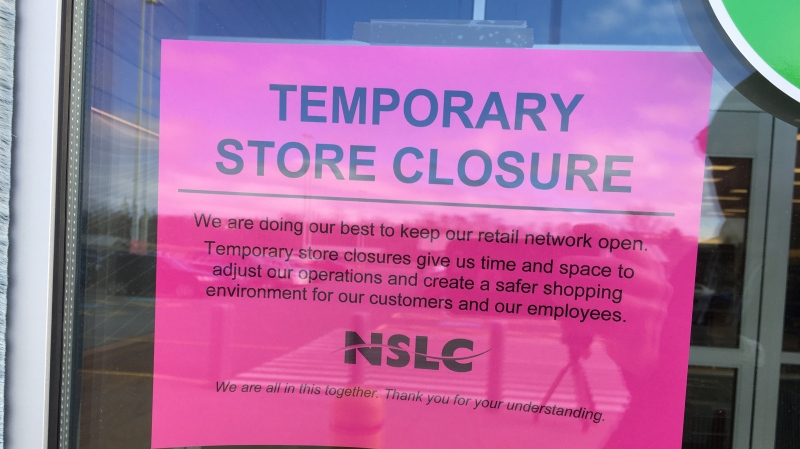 Customers were turned away from the Portland St. NSLC after an employee was exposed to a confirmed case of COVID-19.