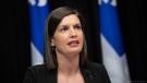 Quebec Deputy Premier and Public Security Minister Genevieve Guilbault. (Handout photo)