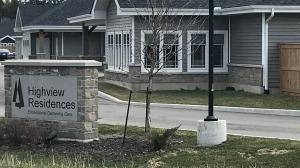 Highview Residences seen on April 4, 2020. (Tyler Calver / CTV Kitchener)