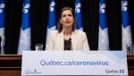 Quebec Deputy Premier Genevieve Guilbault. (Handout)