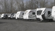 RV Centre in Gananoque offers free campers for iso
